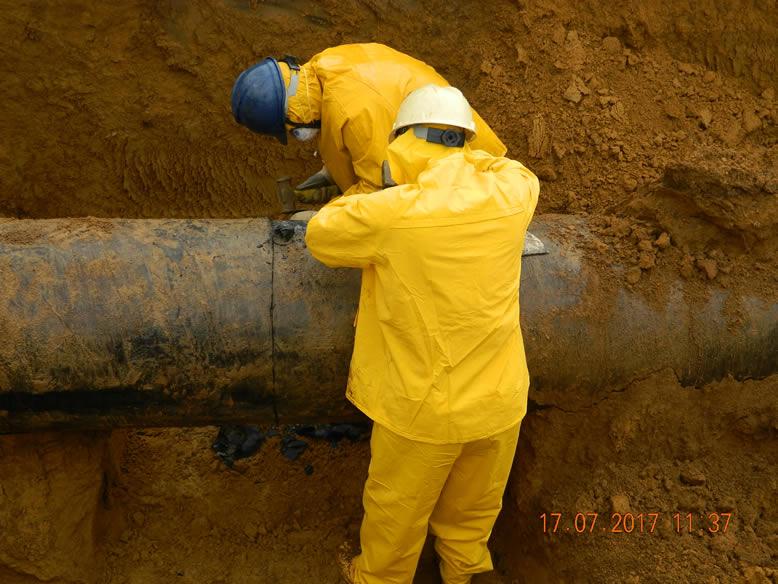 pipe marking